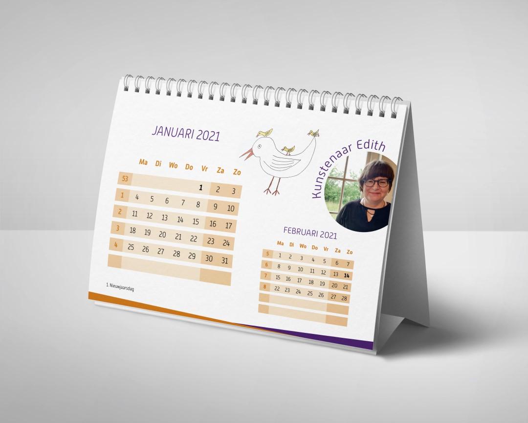 Bureaukalender A5 liggend